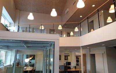 Flotte kontorlokaler og gode lagerlokaler med god loftshøjde
