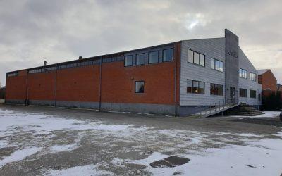 Gode lagerlokaler med flotte kontorer