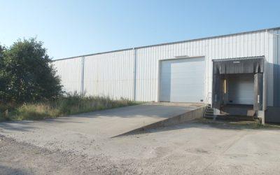 Velbeliggende funktionelle lager og logistiklokaler i Skive